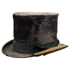 Antique Silk Top Hat, circa 1850-1900