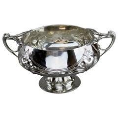 Antique Silver Centrepiece Bowl, Elkington & Co, London, 1907