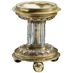 Antique Silver Gilt Standing Salt, English, 1550