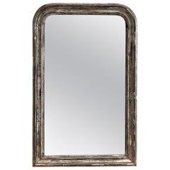 Antique Silver Louis Philippe Mirror
