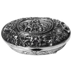 Antique Silver Neresheimer Hanau Box, circa 1900