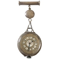 Antique Silver Nurses Fob Watch