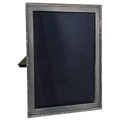Antique Silver Photograph Frame, Birmingham 1919, E. Mander and Son