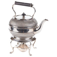 Antique Silver Plated Spirit Kettle