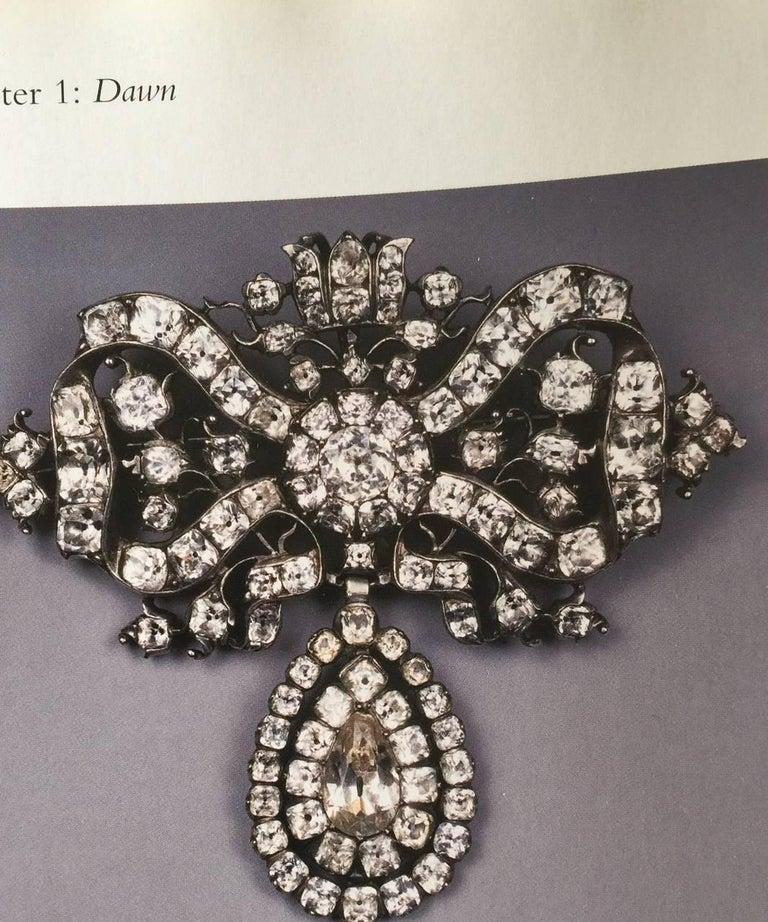 Antique Silver Portuguese Paste Pendant, 18th Century For Sale 3
