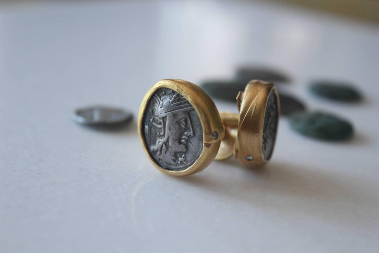 how to make cufflinks from coins