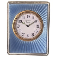 Antique Silver Tiffany & Co. Travel Clock