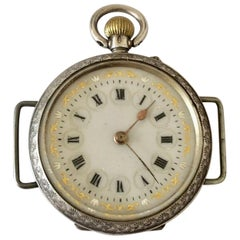 Antique Silver Trench Watch