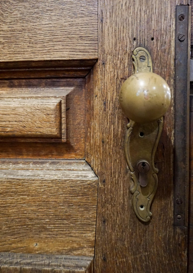 Antique Single Door, circa 1880 In Good Condition For Sale In Dallas, TX