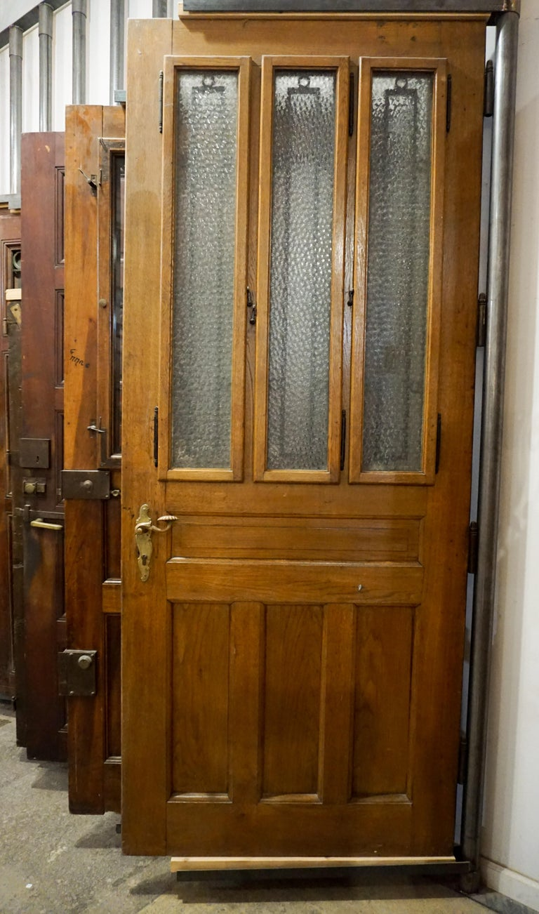 Iron Antique Single Door, circa 1880 For Sale