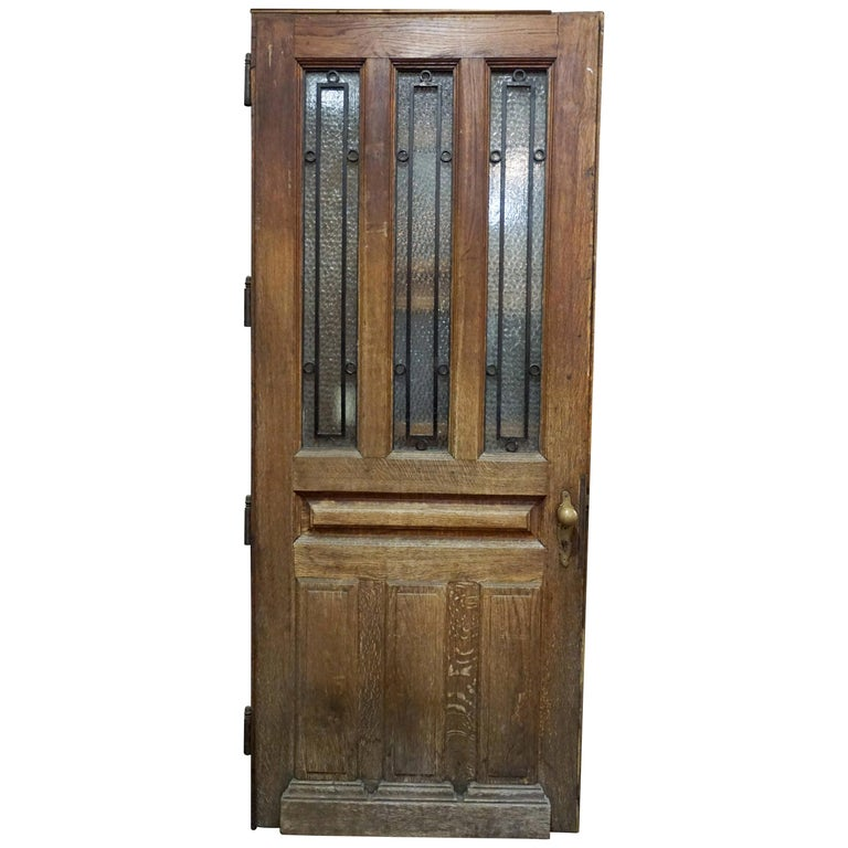 Antique Single Door, circa 1880 For Sale