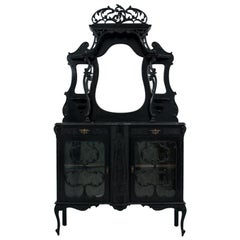 Antique Site Buffet in the Art Nouveau Style, circa 1880