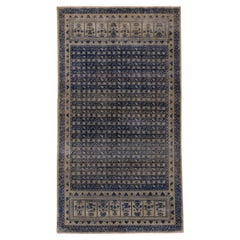 Antique Sivas Rug, Navy Tones