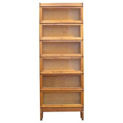 Antique Six Stack Lawyer/Barrister's Bookcase, circa 1910