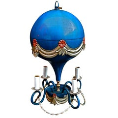 Antique small air  balloon light