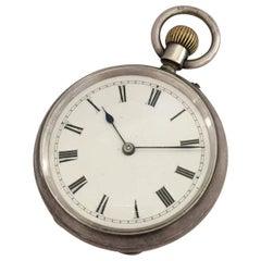 Antique Small Silver Pocket Watch Signed G.E. Frodsham London No.1974