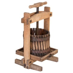 Antique Small Wine Press