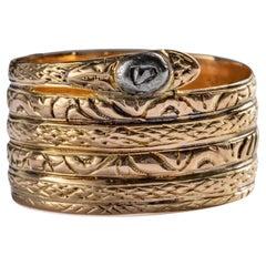 Antique Snake Ring All Original