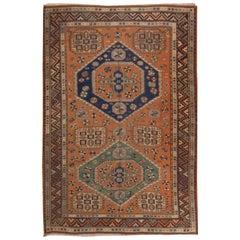Antique Soumak Rug, circa 1910, 4'10 x 6'10