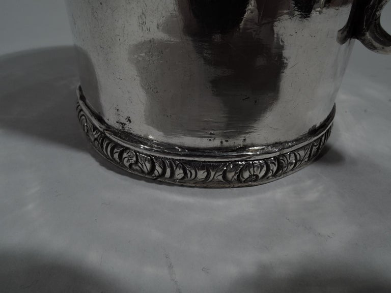 Antique South American Classical Silver Christening Mug For Sale 3