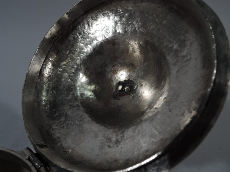Antique South American Silver Sugar Bowl For Sale 2