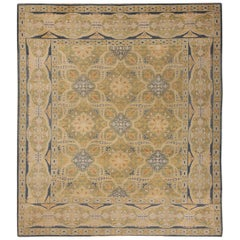 Antique Spanish Alcaraz Rug. Size: 6 ft 9 in x 7 ft 10 in (2.06 m x 2.39 m)