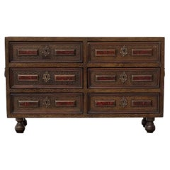 """Antique Spanish Cabinet 18th Century """" Bargueño """"AT 30th September 20% DISCOUNT"""