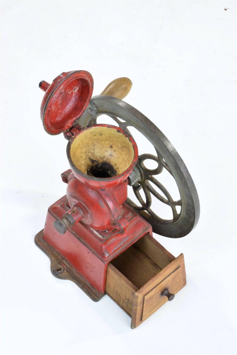 Antique Spanish Coffee Grinder