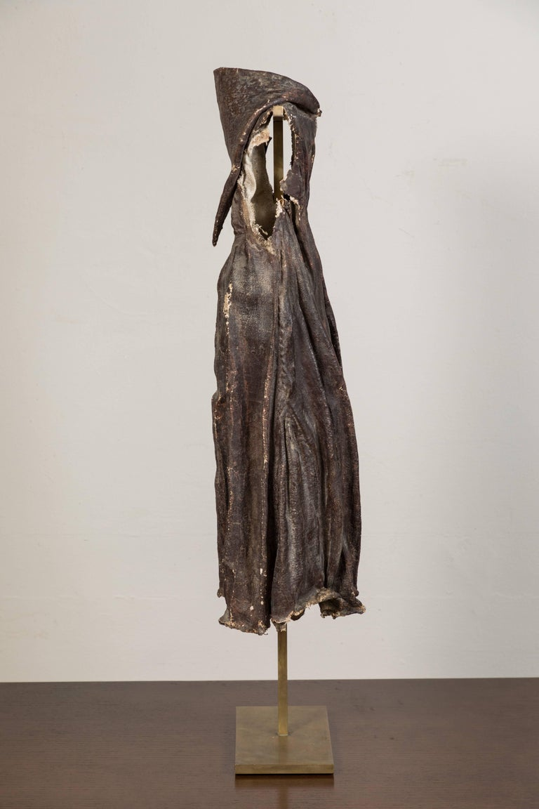 18th Century Antique Spanish Colonial Santos Cloak For Sale