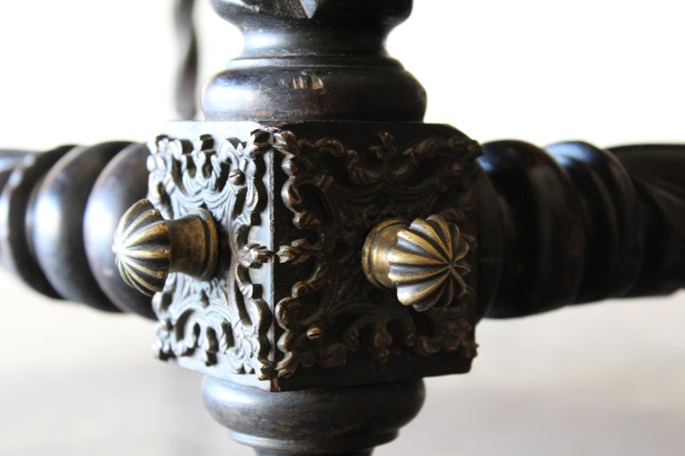Antique Portuguese Library Table For Sale 4