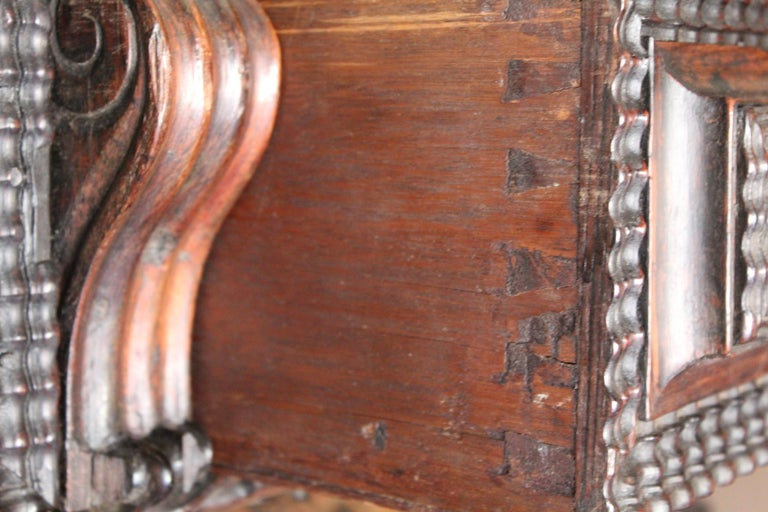 Antique Portuguese Library Table For Sale 6