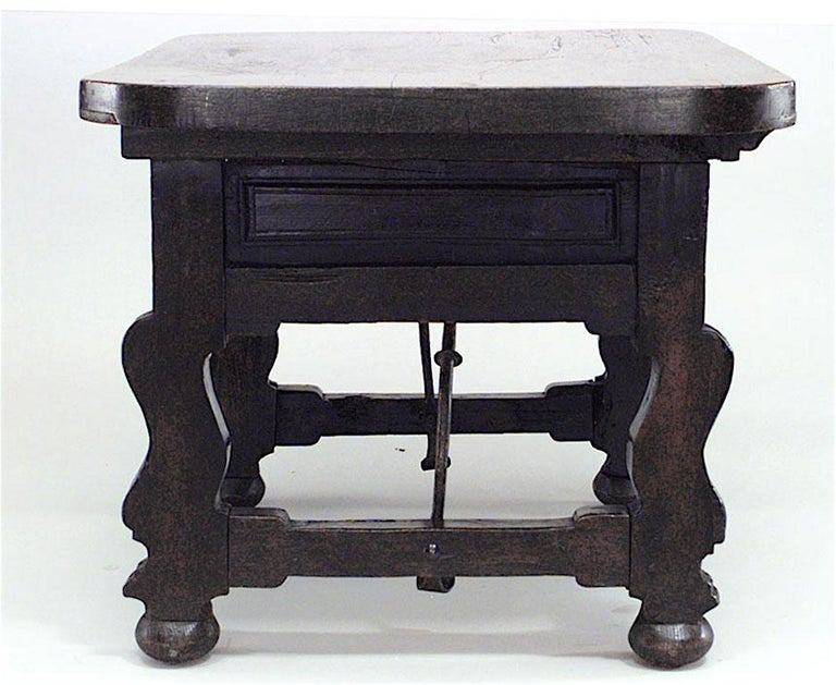 Renaissance Revival Antique Spanish Renaissance Style '18th-19th Century' Center Table For Sale