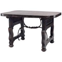 Antique Spanish Renaissance Style '18th-19th Century' Center Table