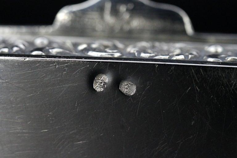 Antique Spanish Silver Snuff Box, 19th Century For Sale 7