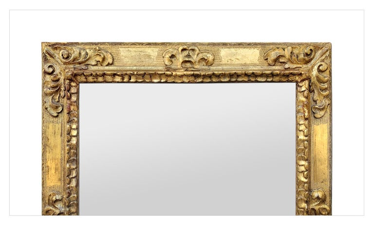 Spanish Colonial Antique Spanish Style Giltwood Mirror, circa 1930 For Sale