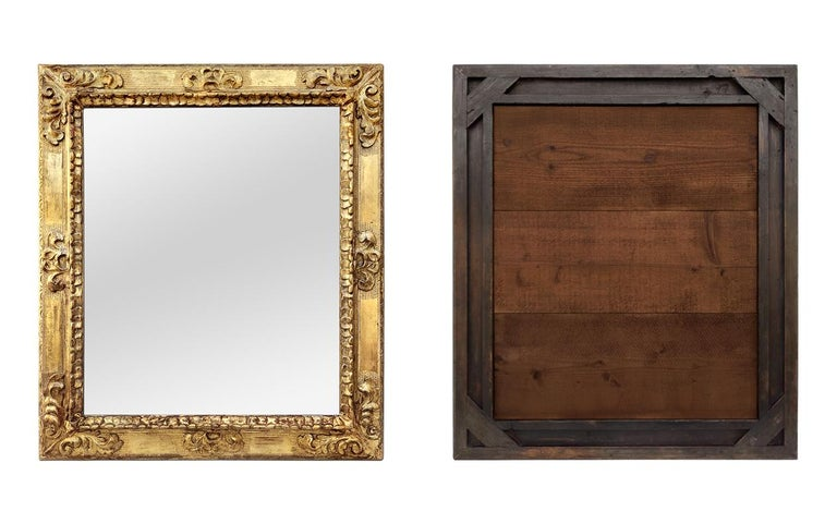 Mid-20th Century Antique Spanish Style Giltwood Mirror, circa 1930 For Sale