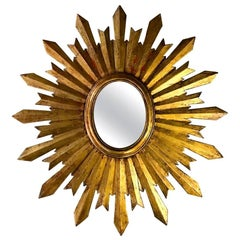 Antique Spanish Sunburst Mirror