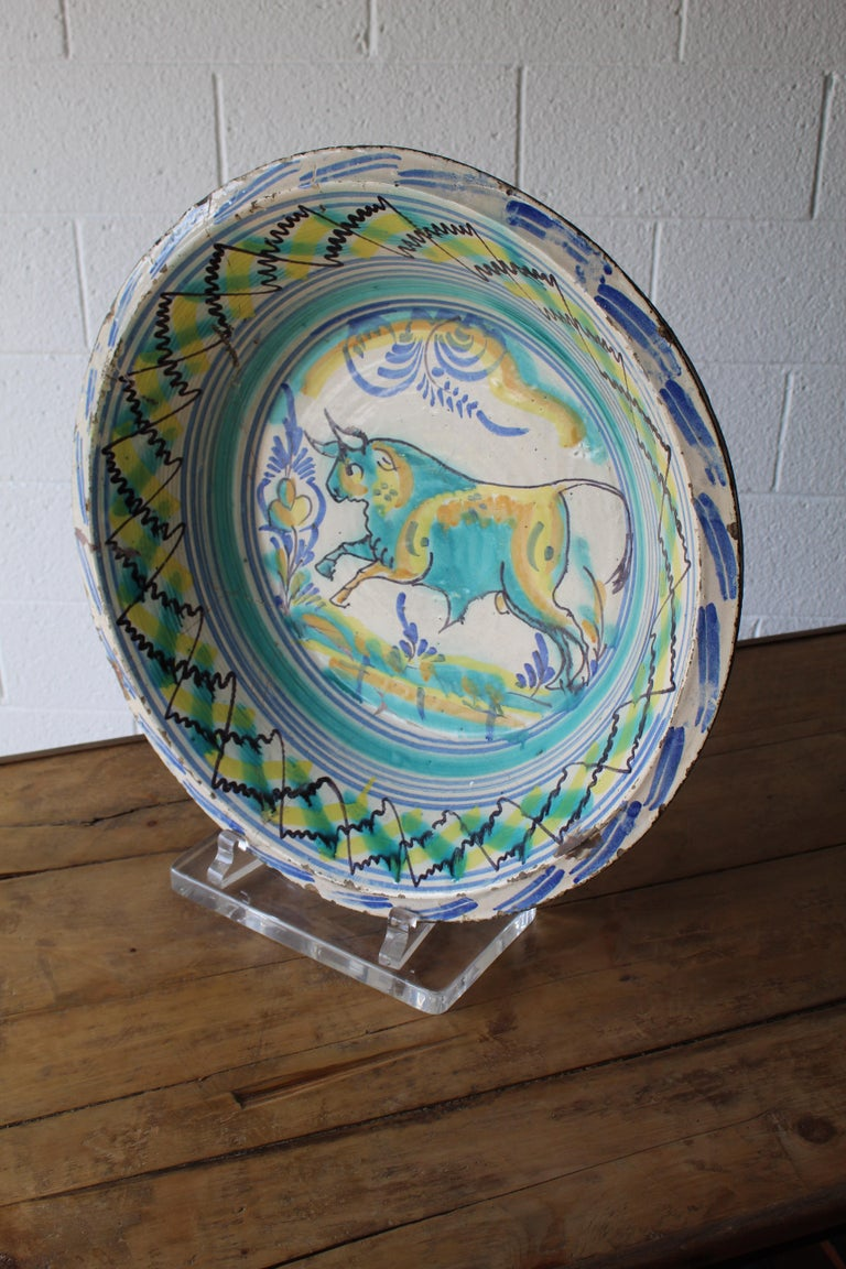 Antique Spanish Wash Basin For Sale 1