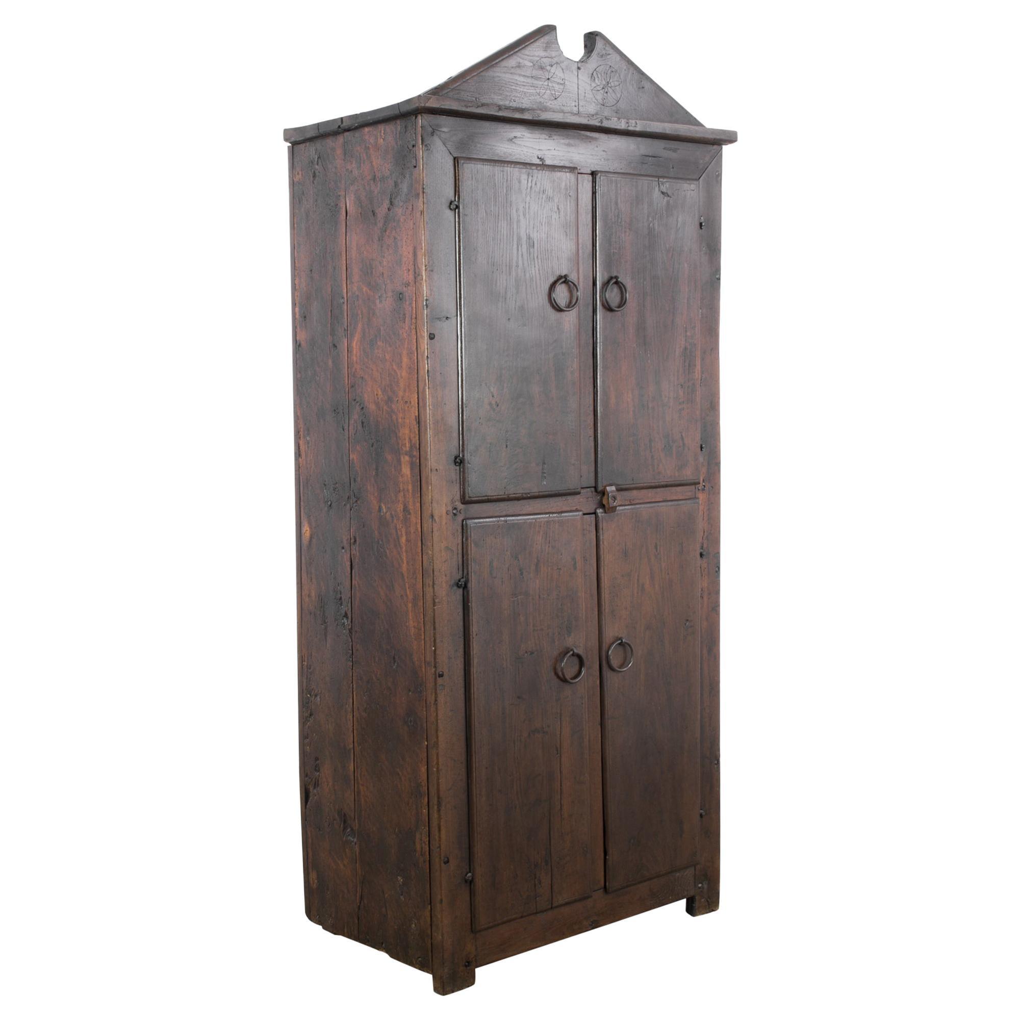Antique Spanish Wooden Cabinet