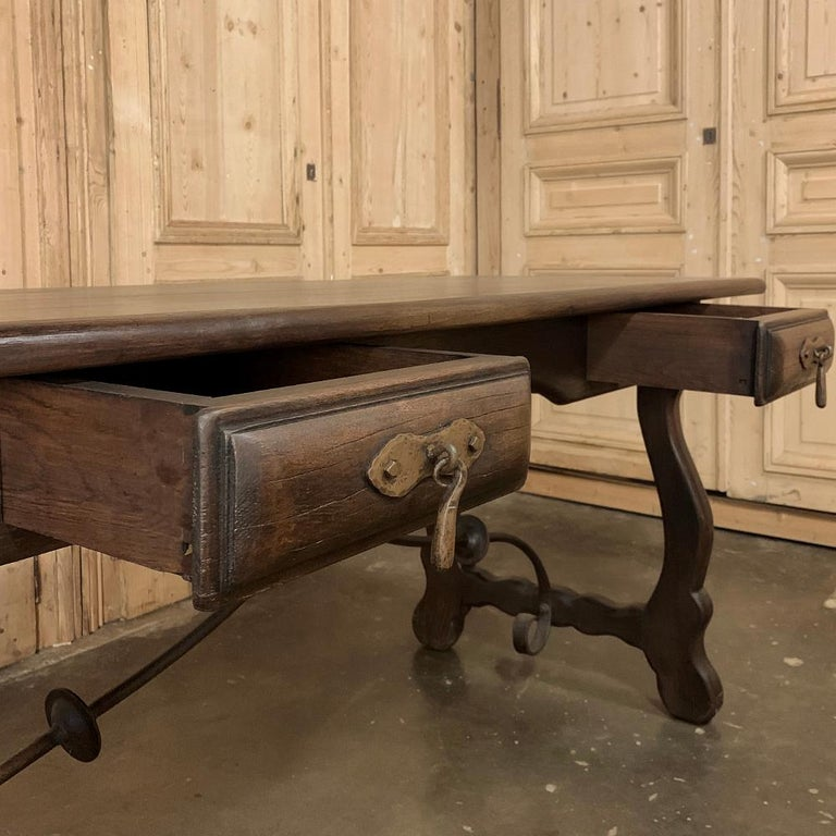 Antique Spanish Writing Desk For Sale 2