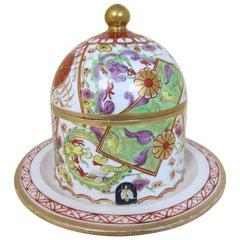 Antique Spode Porcelain Pattern 287 Honey Pot and Lid