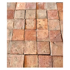 Antique Square Terracotta Tile Sample