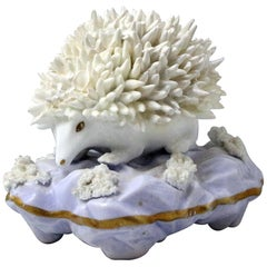 Antique Staffordshire Figure of a Hedgehog, Early 19th Century, England