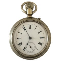 Antique Stem-Wind Pocket Watch