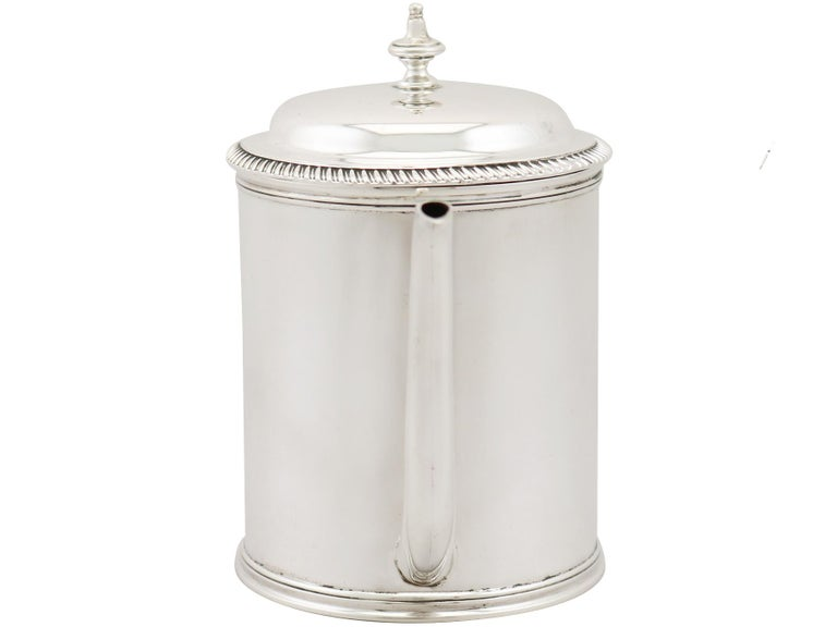 English Antique Sterling Silver Argyle For Sale