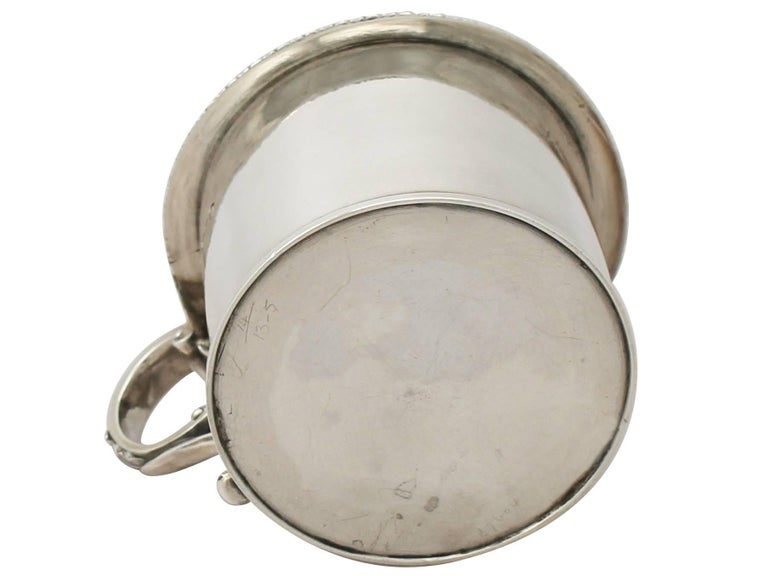 Antique William IV Sterling Silver Mustard Pot, 1837 For Sale 3