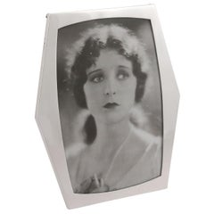 Antique Sterling Silver Photograph Frame, 1919