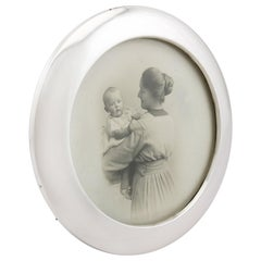 Antique Sterling Silver Photograph Frame 1923