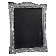 Antique Sterling Silver Photograph Frame Birmingham 1917 Boots Pure Drug Co.