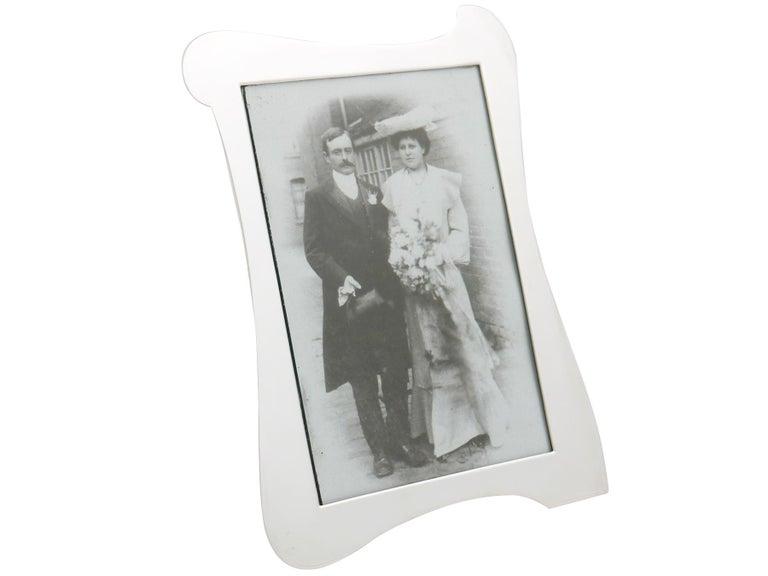 Art Nouveau Antique Sterling Silver Photograph Frames For Sale